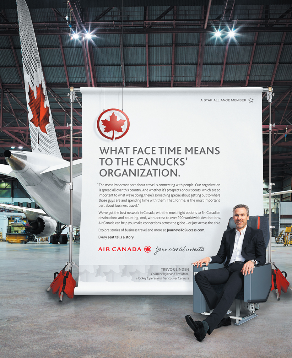 Air Canada Influencer Campaign 1