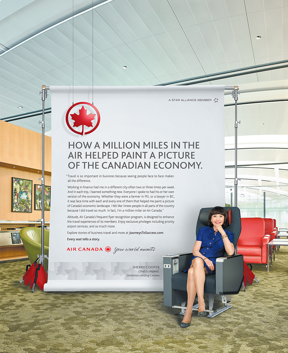 Air Canada Influencer Campaign 2