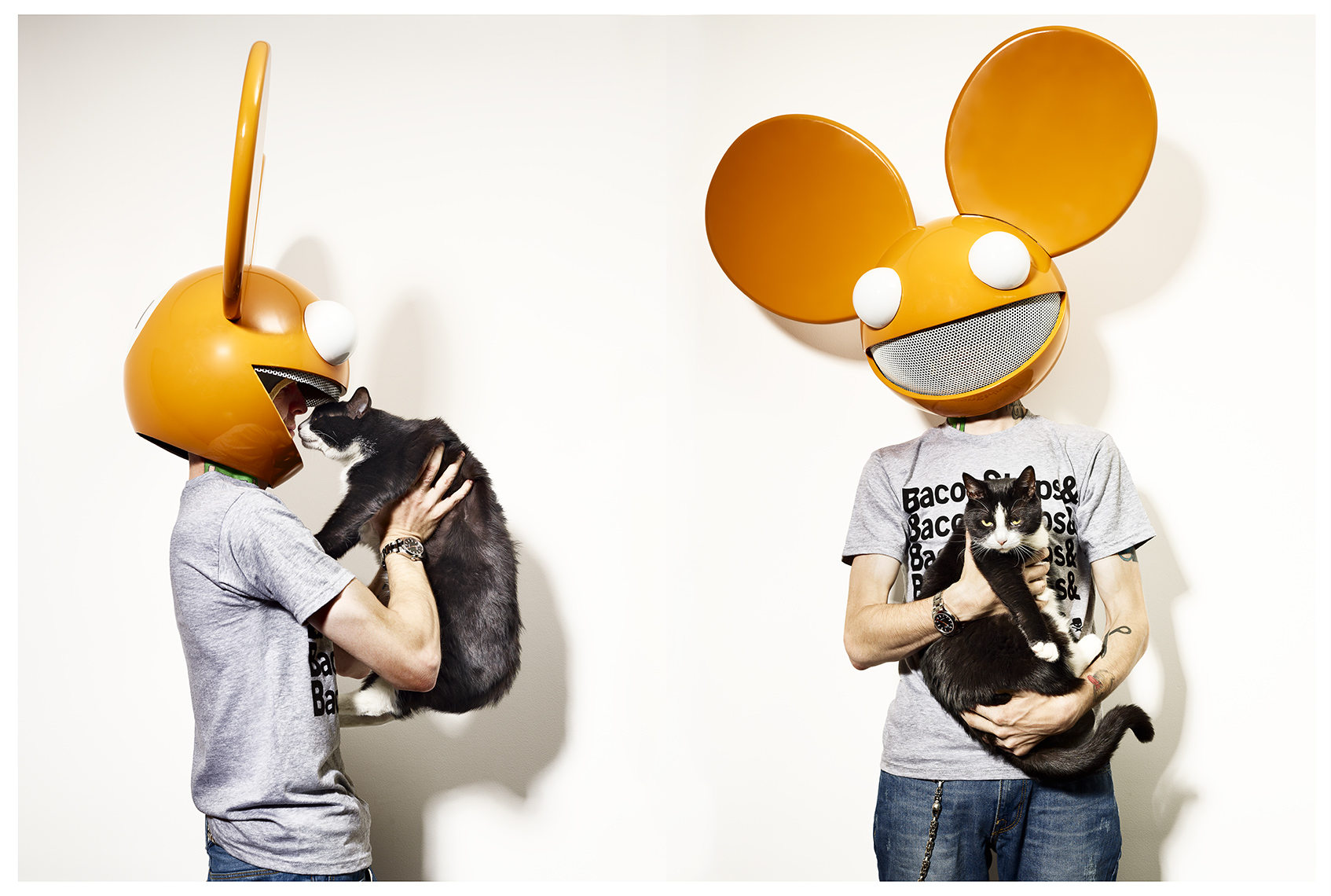 Deadmau5 & Mewington Editorial Chicago